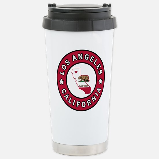 Los Angeles California Stainless Steel Travel Mug