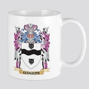 Gudgeon Coat of Arms (Family Crest) Mugs