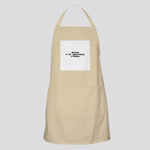 Blessings  to  the  Tigray-Ti BBQ Apron