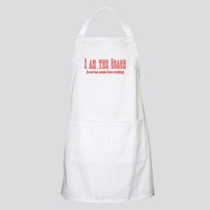I'm the Coach- Red BBQ Apron