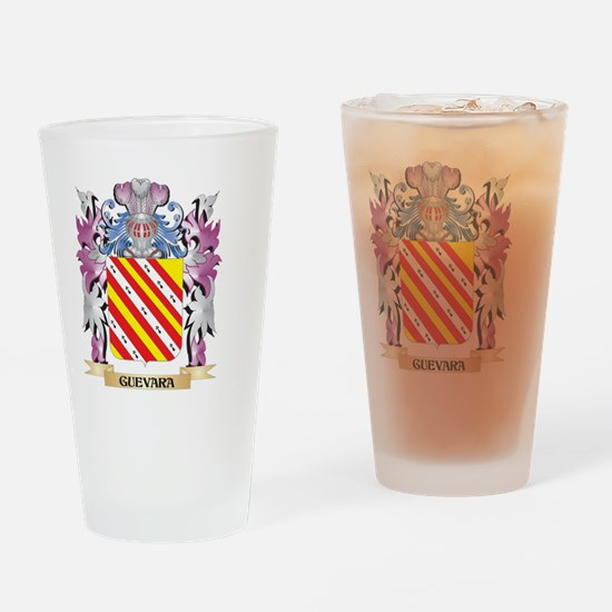 Guevara Coat of Arms (Family Crest) Drinking Glass