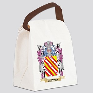 Guevara Coat of Arms (Family Cres Canvas Lunch Bag