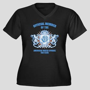 American Water Spaniel Women's Plus Size V-Neck Da