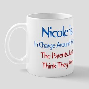 Nicole Is In Charge Mug