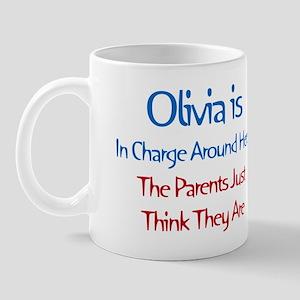 Olivia Is In Charge Mug
