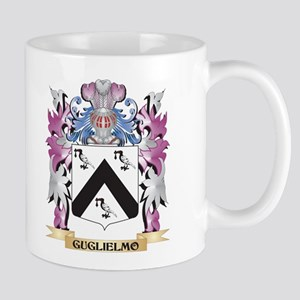 Guglielmo Coat of Arms (Family Crest) Mugs