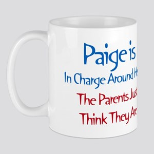 Paige Is In Charge Mug