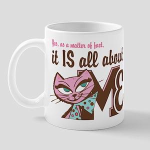 All About Me Kitty Mug