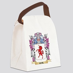 Guhl Coat of Arms (Family Crest) Canvas Lunch Bag