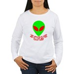 Abducted By Aliens Women's Long Sleeve T-Shirt