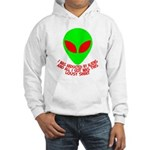 Abducted By Aliens Hooded Sweatshirt