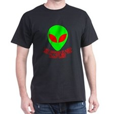 Abducted By Aliens Dark T-Shirt