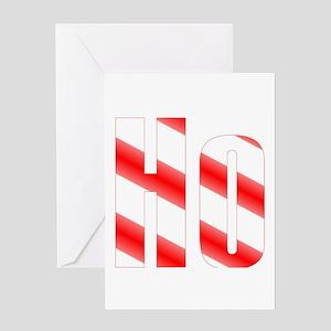 HO! Christmas Design Greeting Card