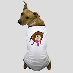 Kicking Spirit BrnBL Dog T-Shirt