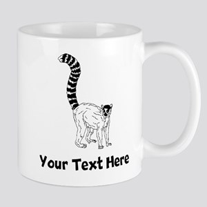 Ring Tailed Lemur Mugs