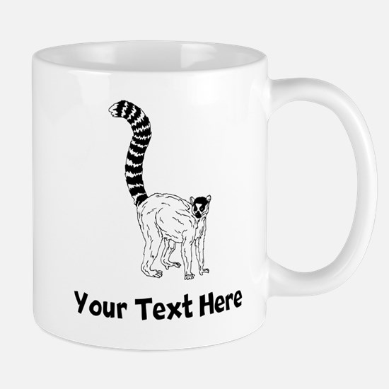 Ring Tailed Lemur Mugs