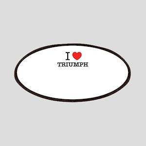 I Love TRIUMPH Patch