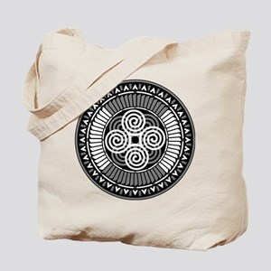 Ancient Echos black and white Tote Bag