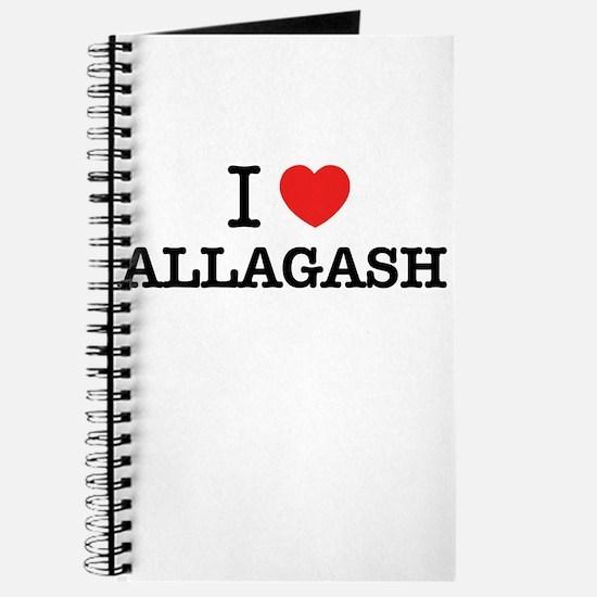 I Love ALLAGASH Journal