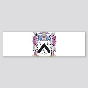 Guillermo Coat of Arms (Family Cres Bumper Sticker