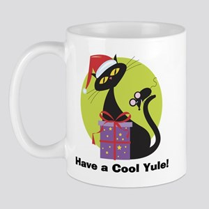 Cool Yule Kitty Mug