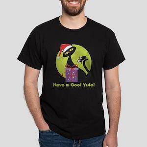 Cool Yule Kitty Dark T-Shirt