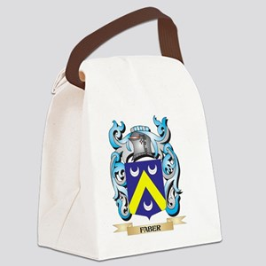 Faber Coat of Arms - Family Crest Canvas Lunch Bag