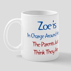 Zoe Is In Charge Mug