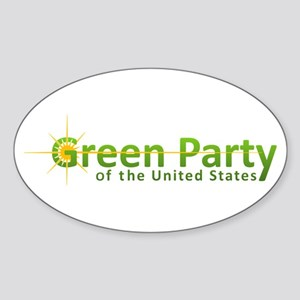 Green Party Variant Logo Sticker