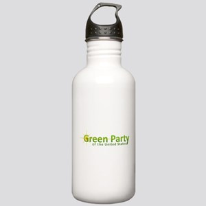 Green Party variant logo Water Bottle