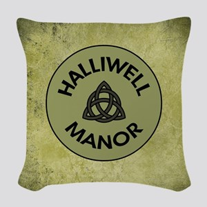 HALLIWELL MANOR Woven Throw Pillow