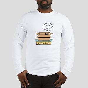 Cat Philosophy Long Sleeve T-Shirt