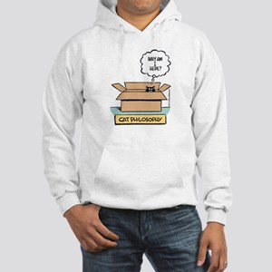 Cat Philosophy Hooded Sweatshirt