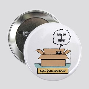 "Cat Philosophy 2.25"" Button"