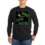 Dark Krill Lives Matter Long Sleeve T-Shirt