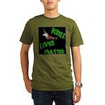 Organic Men's Krill Lives Matter T-Shirt (dark