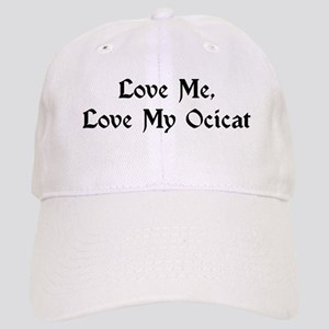 Love My Ocicat Cap