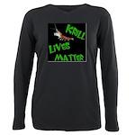Krill Lives Matter Plus Size Long Sleeve Tee