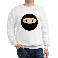 Cute Ninja Face Sweatshirt