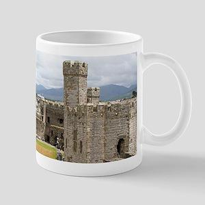 Caernarfon Castle, Wales, United Kingdom Mugs