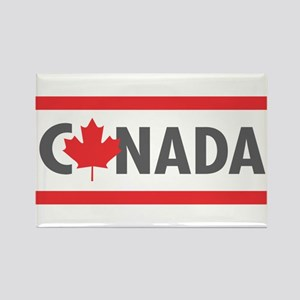 CANADA - Red Design Magnets