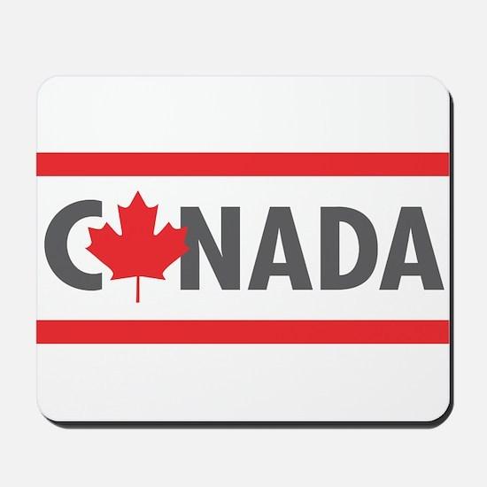CANADA - Red Design Mousepad