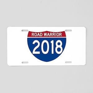 Road Warrior 2018 Aluminum License Plate