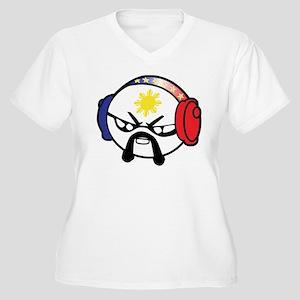Hoy Women's Plus Size V-Neck T-Shirt