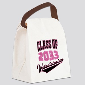 Class of 2033 Valedictorian Canvas Lunch Bag
