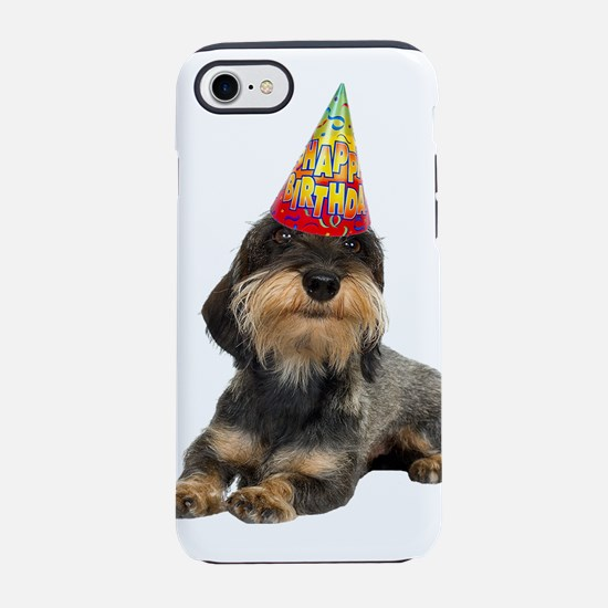 Wirehaired Dachshund iPhone 8/7 Tough Case