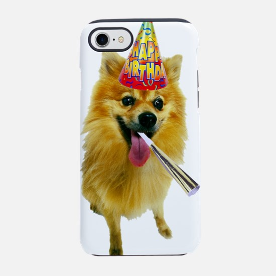 Pomeranian Birthday iPhone 8/7 Tough Case