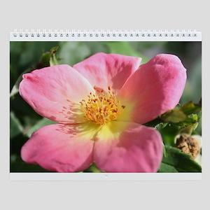 pink rose Wall Calendar
