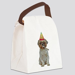 Lhasa Apso Birthday Canvas Lunch Bag