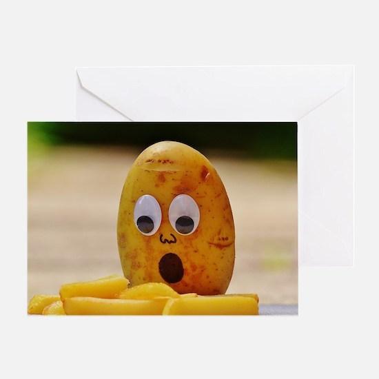 Cute Potato Greeting Card